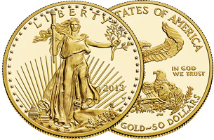 American Gold Eagle Proof Coin